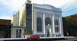 Eight residential units will be created on the site of the Fullerton State Bank.